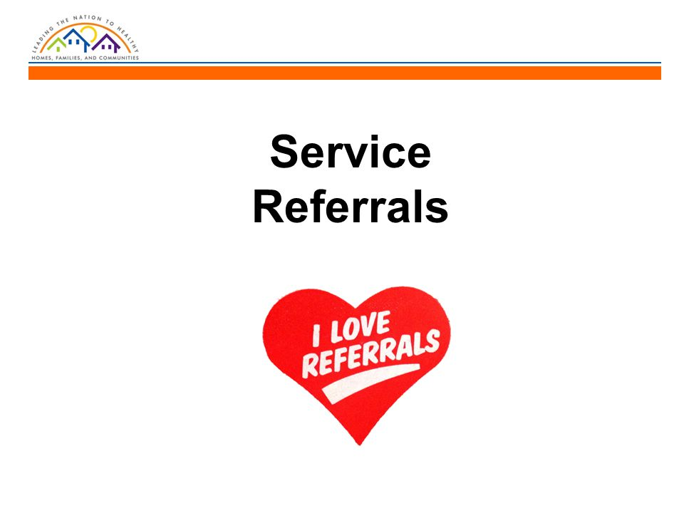 Service Referrals