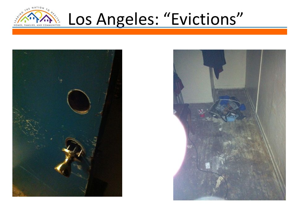 Los Angeles: Evictions