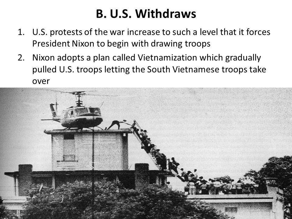B.U.S. Withdraws 1.U.S.