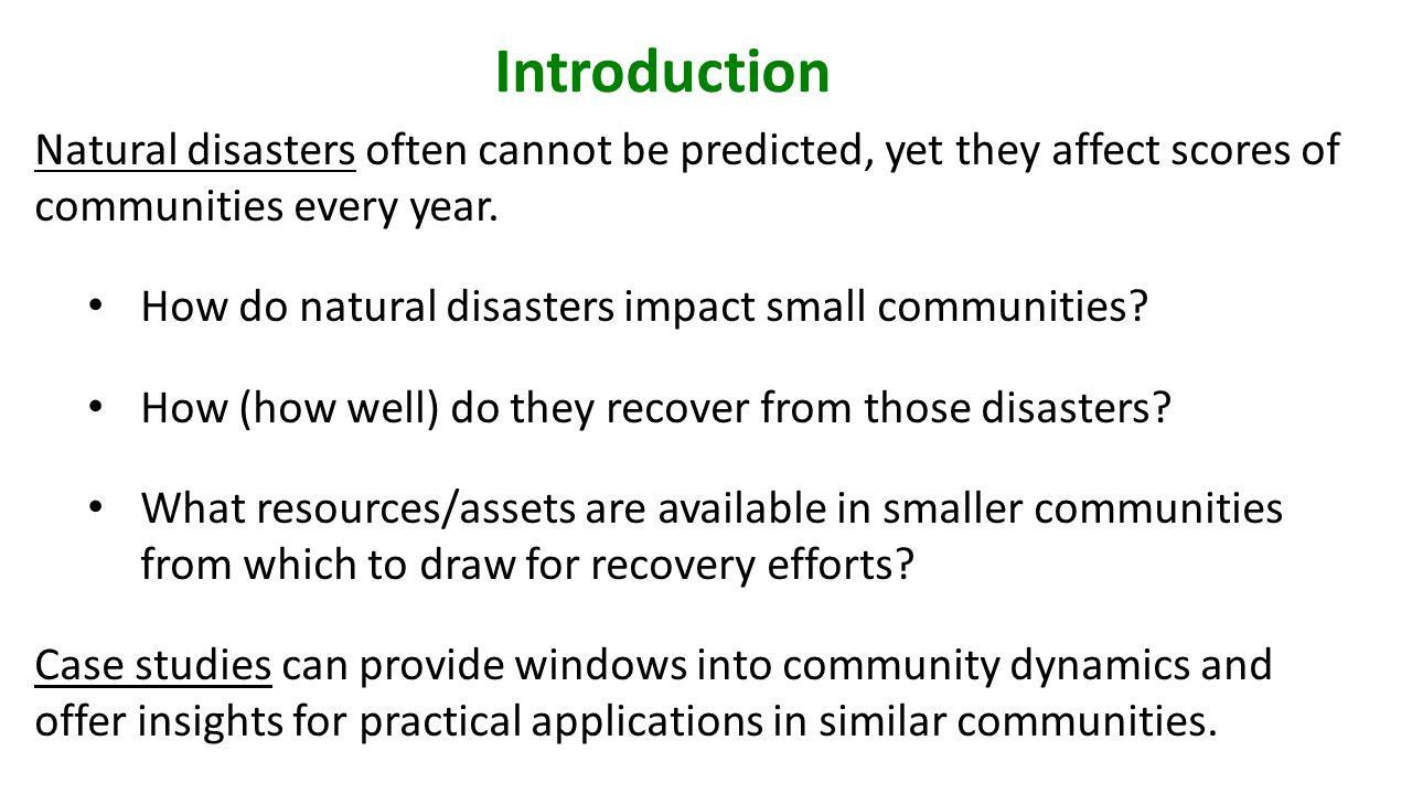 Four Phases of Emergency Management Mitigation RecoveryResponse Preparedness