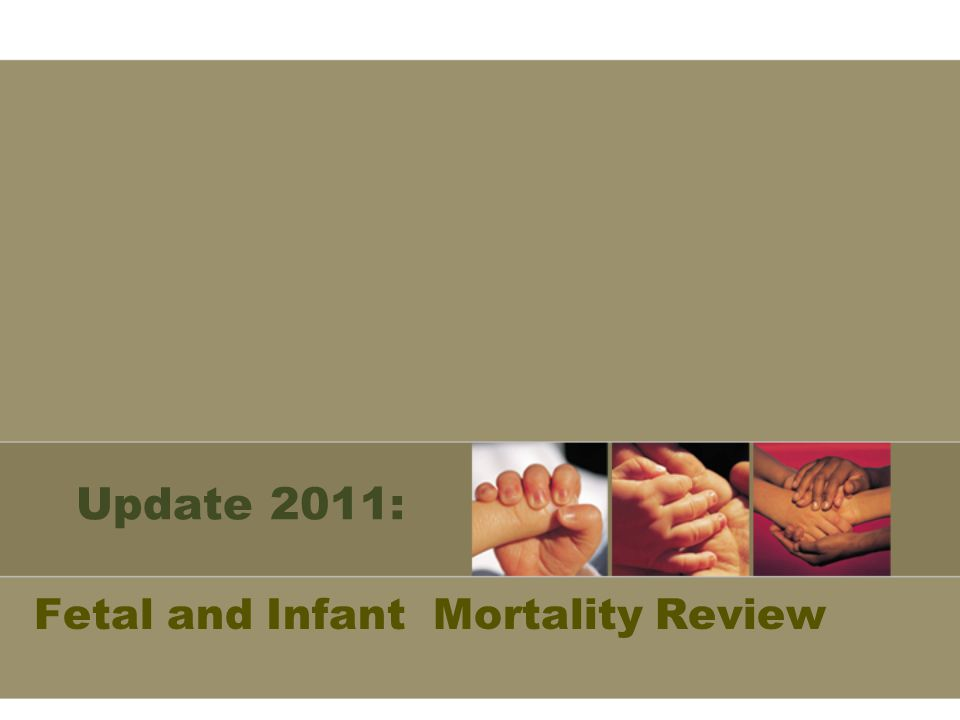 Update 2011: Fetal and Infant Mortality Review