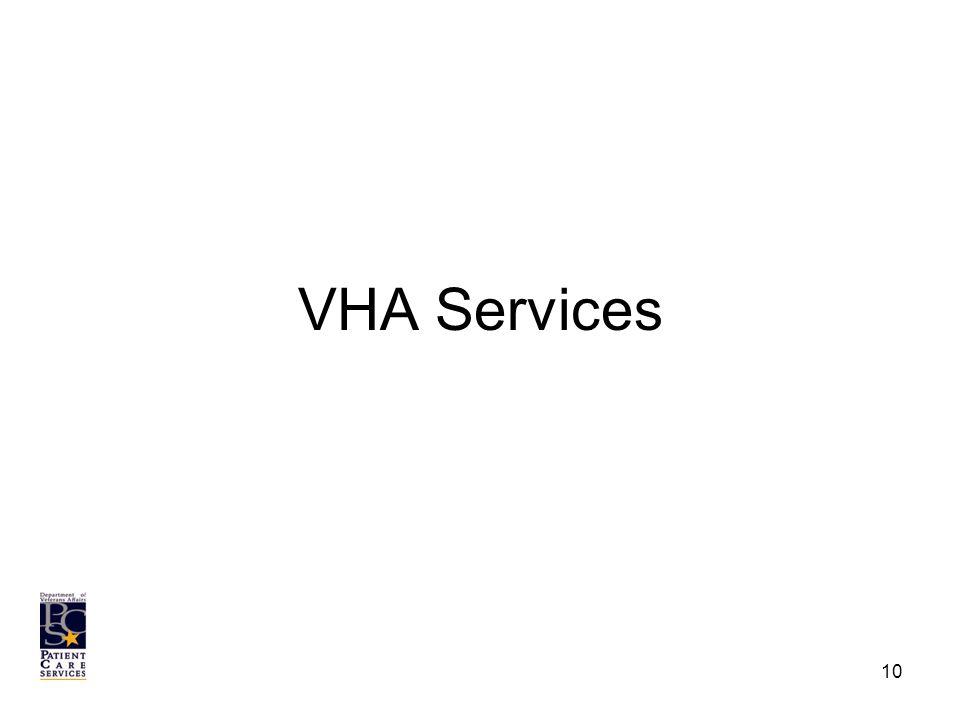 VHA Services 10