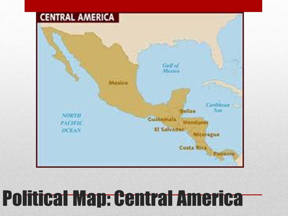 Political Map: Central America