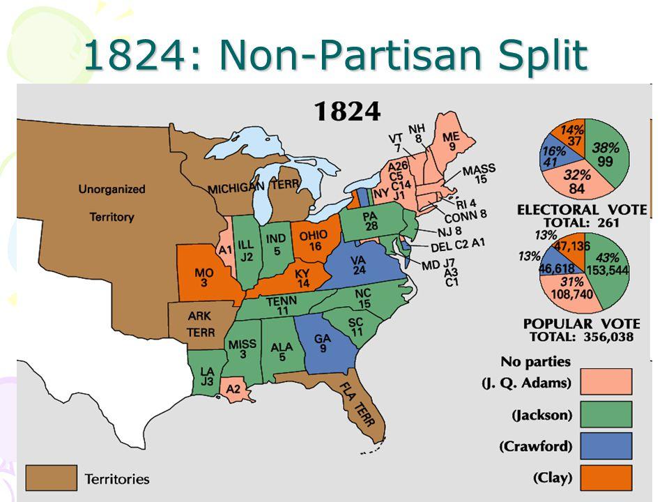 1824: Non-Partisan Split