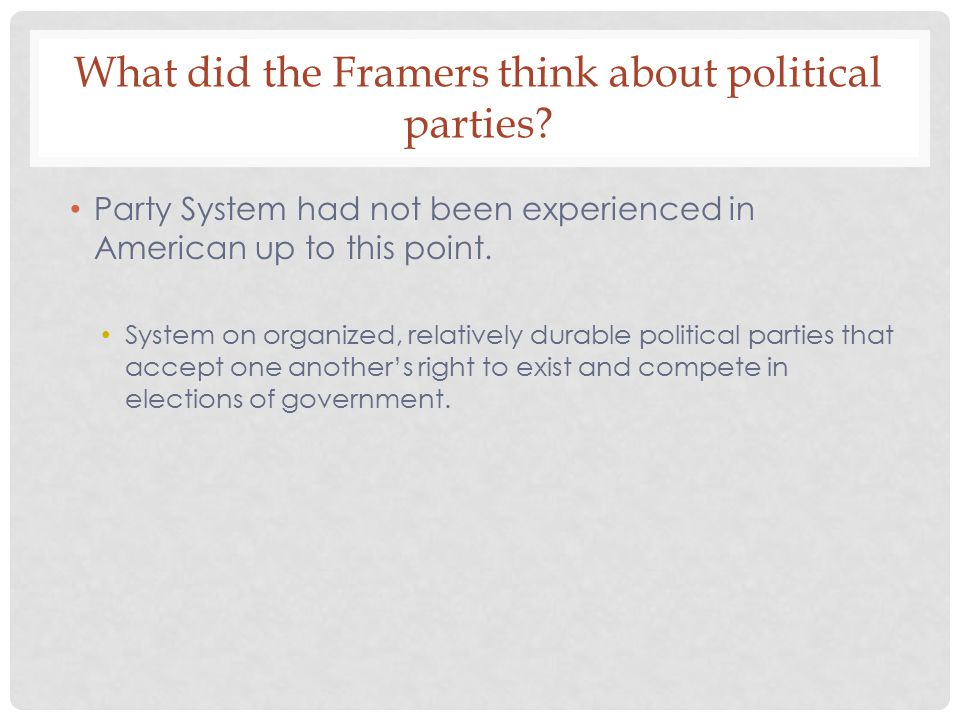 What ideas and events led to the development of political parties in the 1790s.