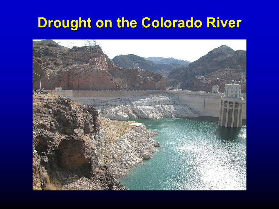 Drought on the Colorado River