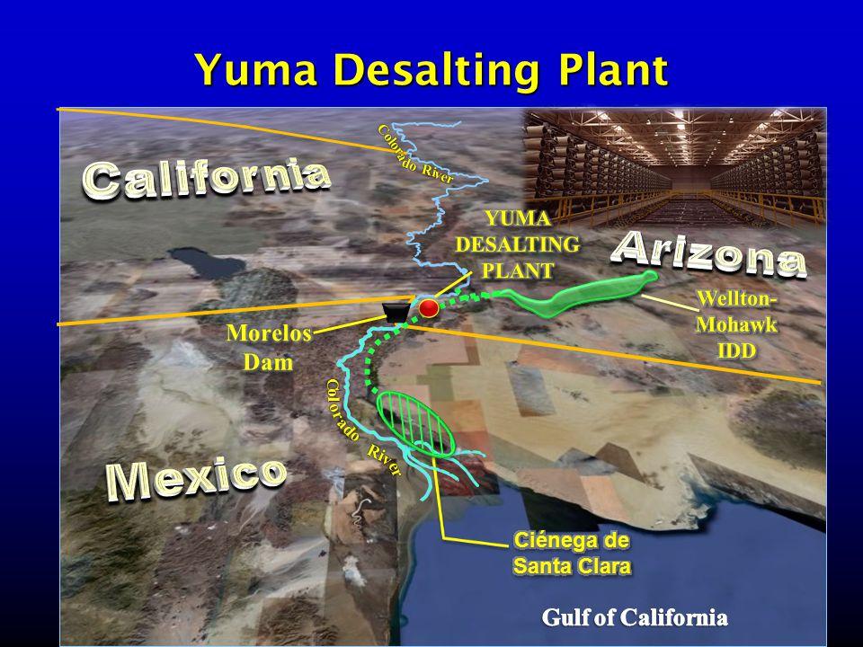 Yuma Desalting Plant Color a Ri do ver C ad Ri ol or er v o
