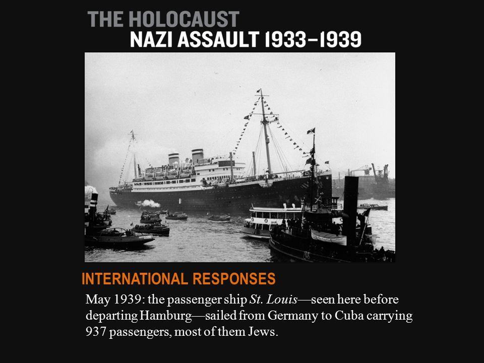May 1939: the passenger ship St.