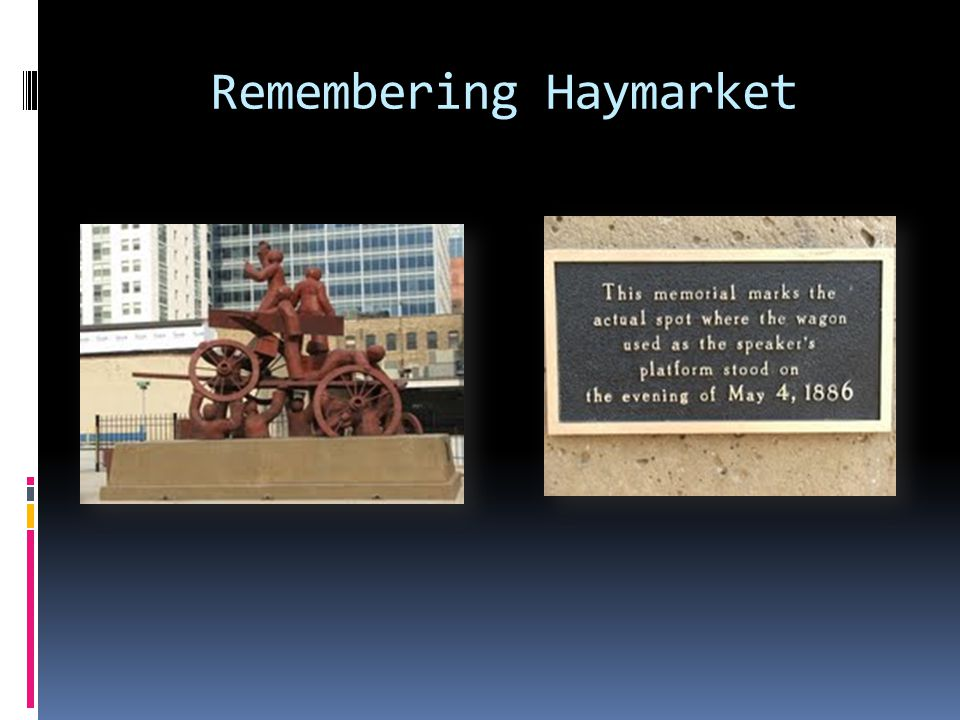 Remembering Haymarket