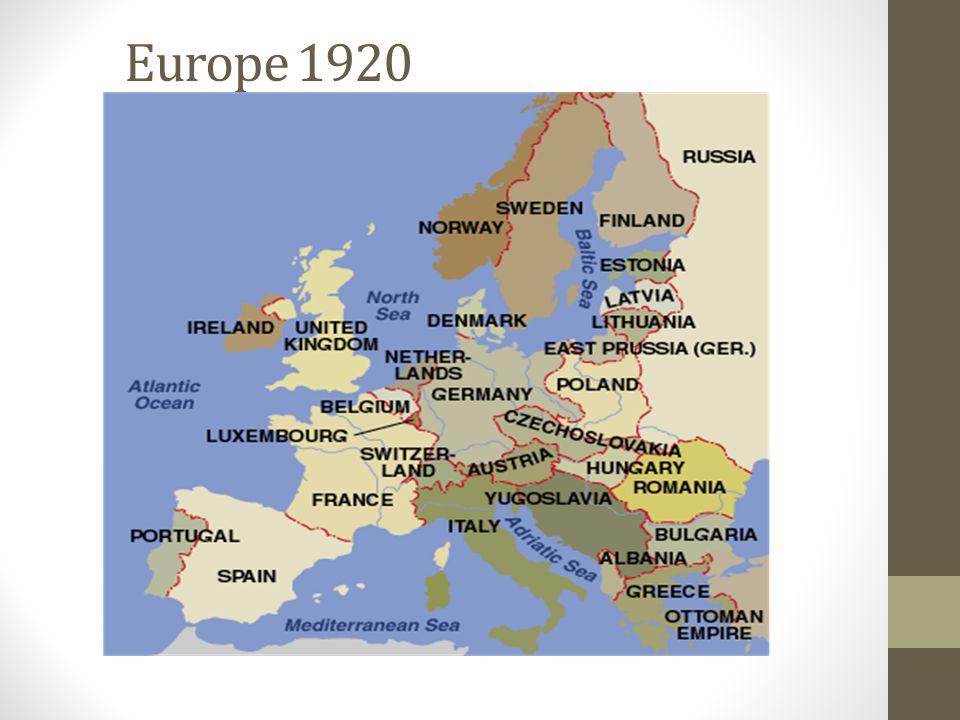 Europe 1920
