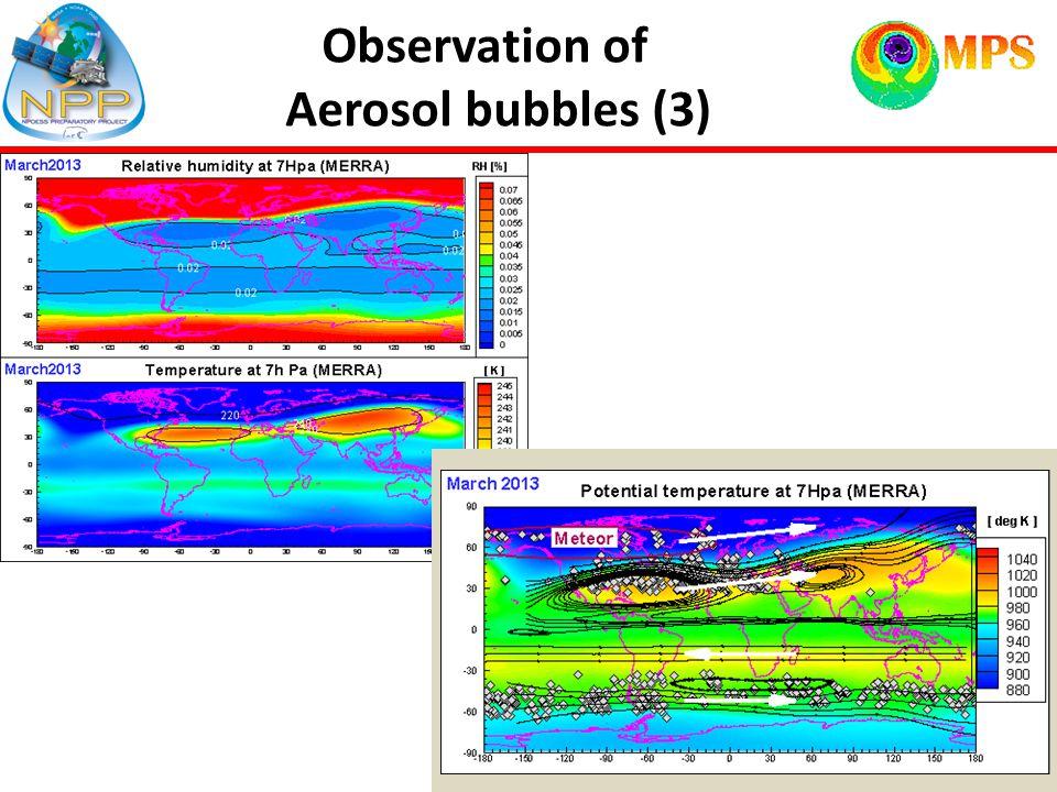 12 Observation of Aerosol bubbles (3)