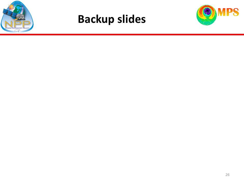 Backup slides 26