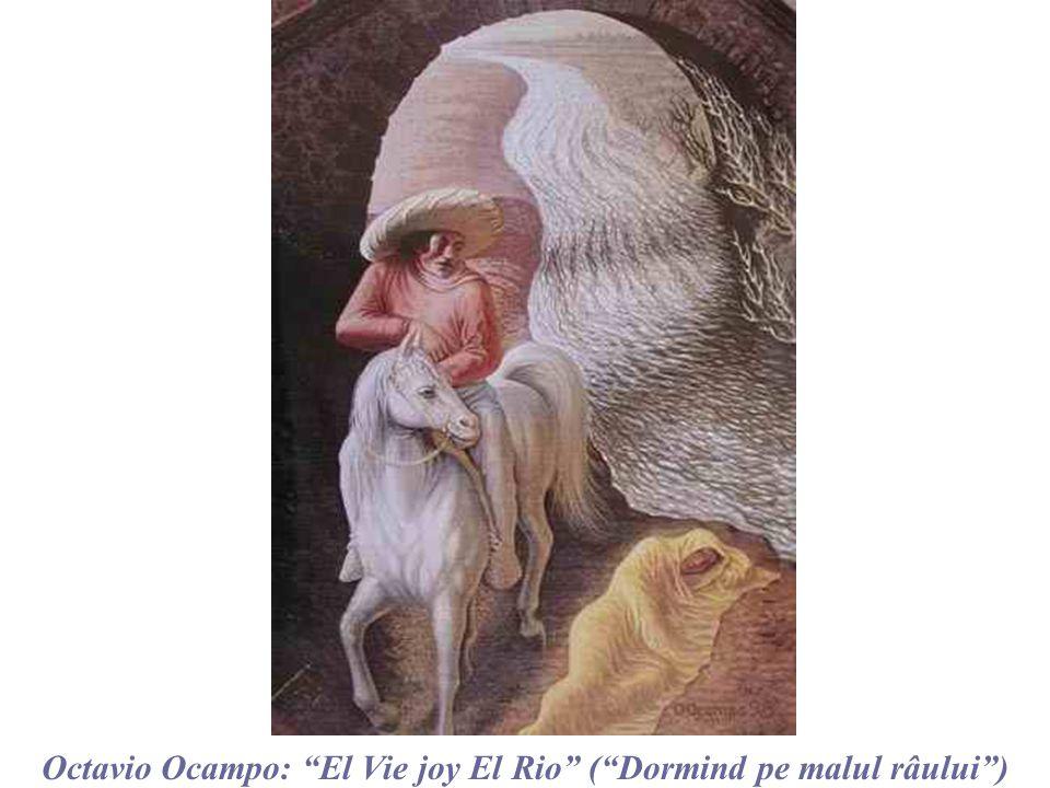 Semnificatiile acestui magic tablou, sunt mai presus de cuvinte… Octavio Ocampo : La Pasion Hoy