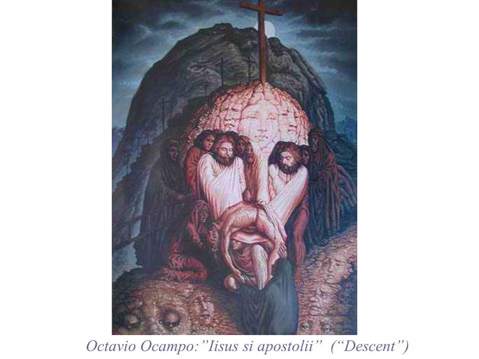 Octavio Ocampo: Iisus si apostolii ( Descent )