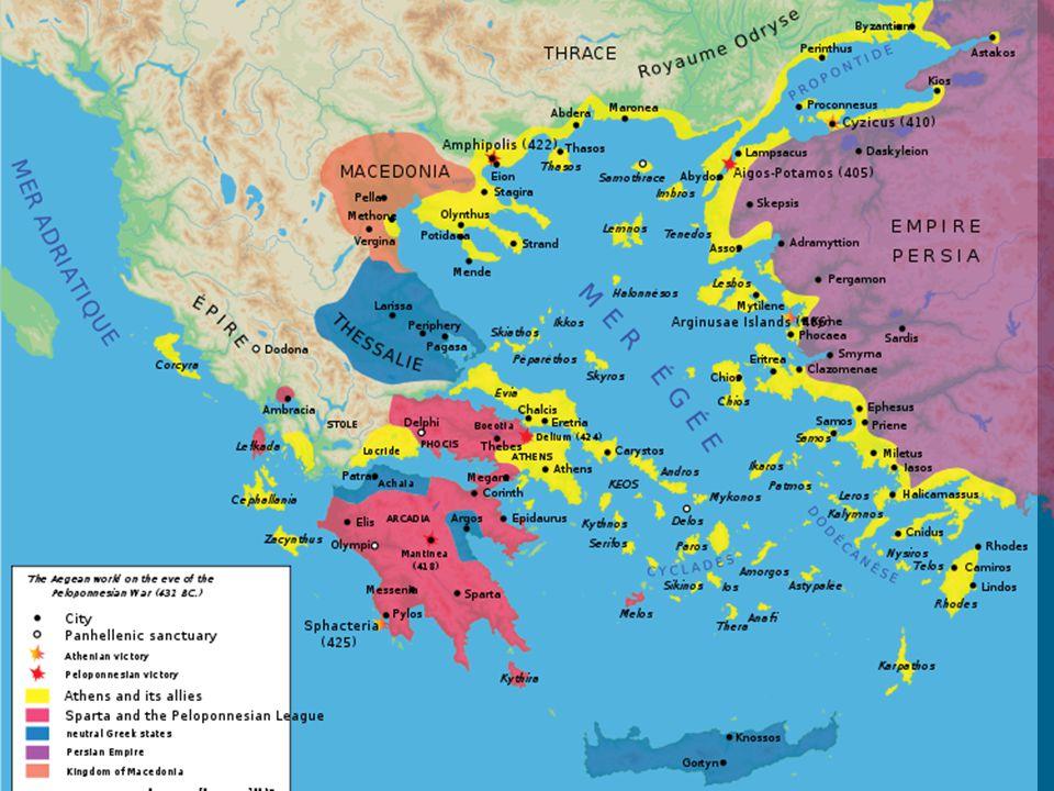 CAUSES Sparta vs.Athens Athens growing too big.
