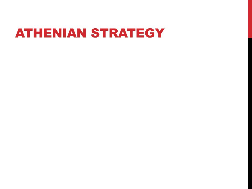 ATHENIAN STRATEGY