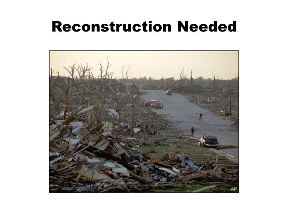 Reconstruction Needed