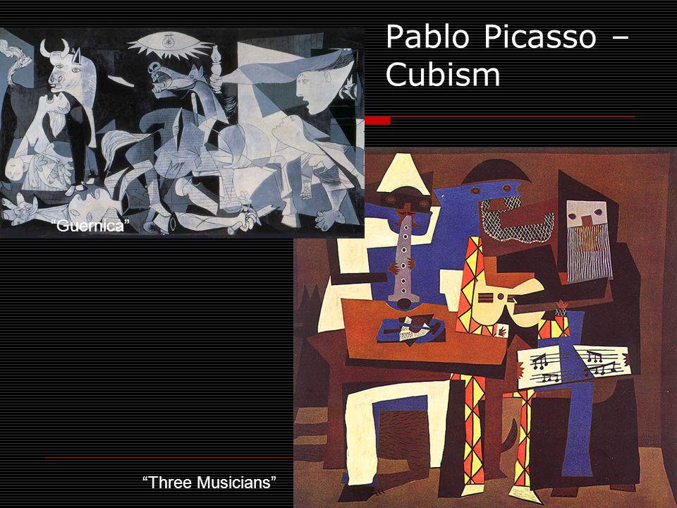 Three Musicians Pablo Picasso – Cubism Guernica