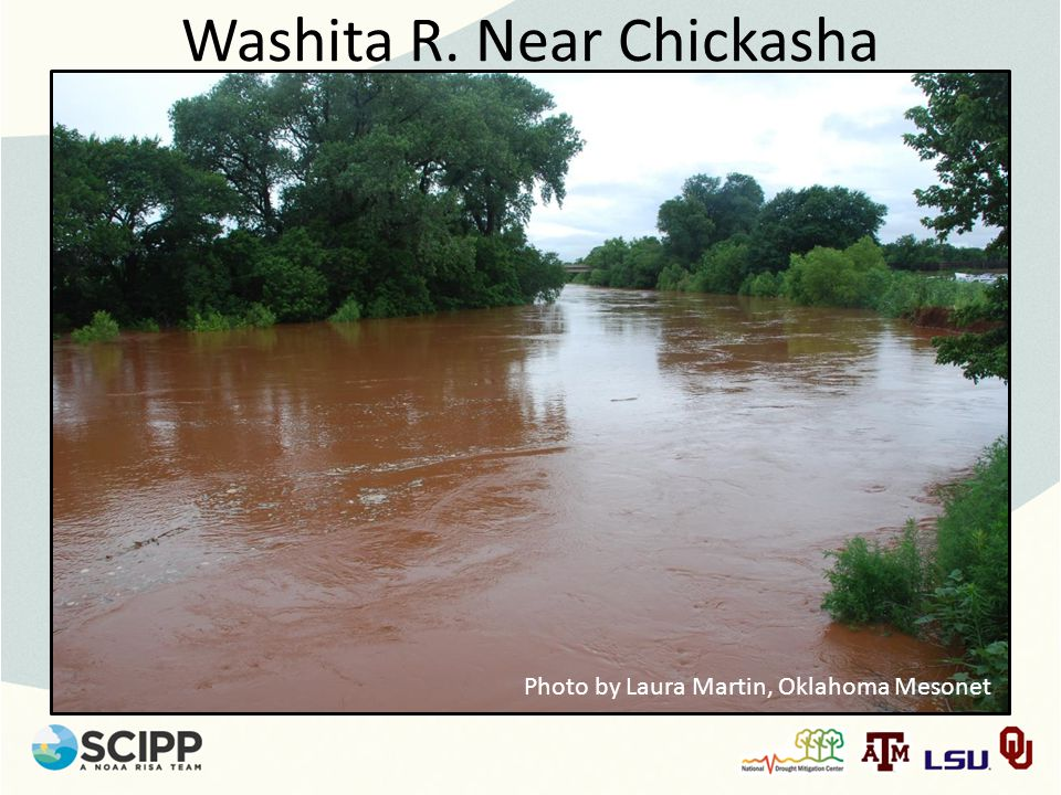 Washita R. Near Chickasha Photo by Laura Martin, Oklahoma Mesonet