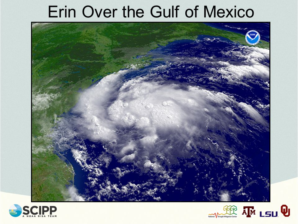Erin Over the Gulf of Mexico