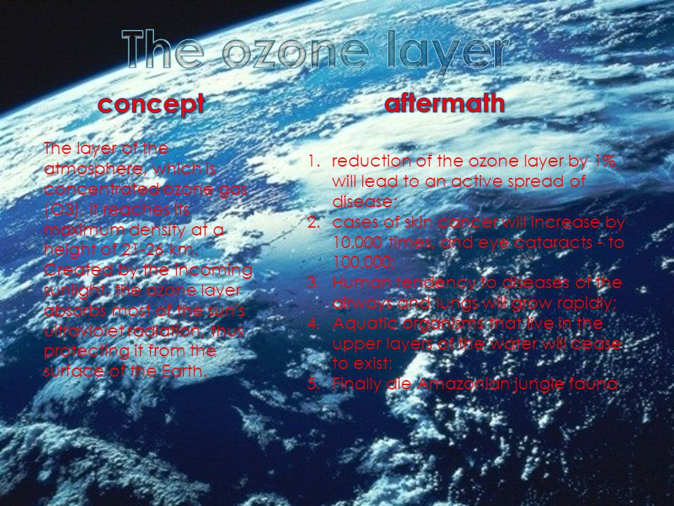 The layer of the atmosphere, which is concentrated ozone gas (O3).