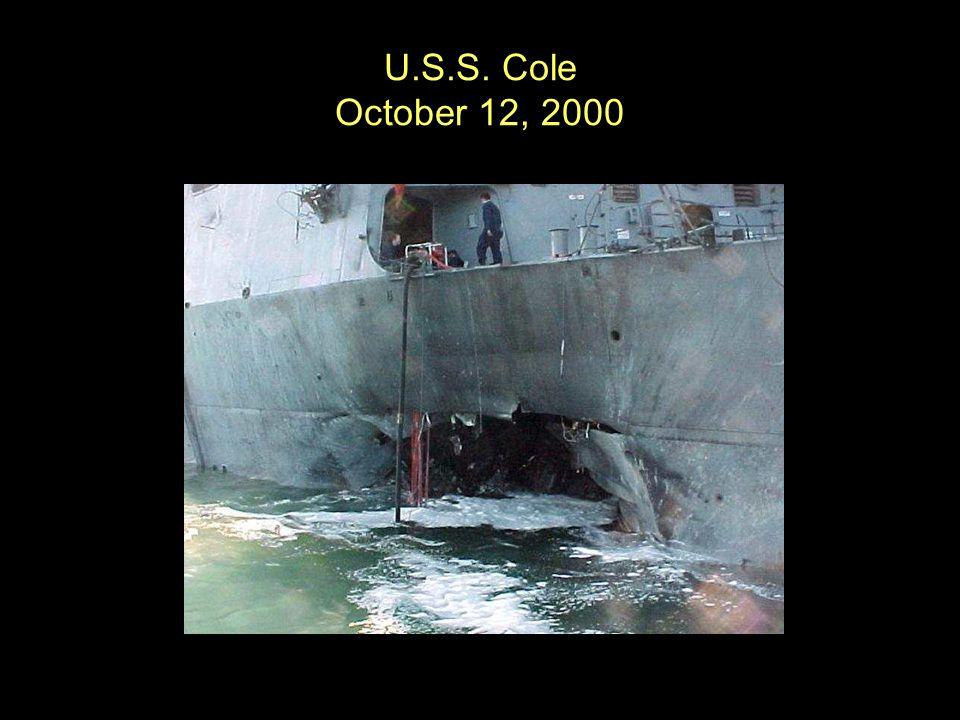 U.S.S. Cole October 12, 2000