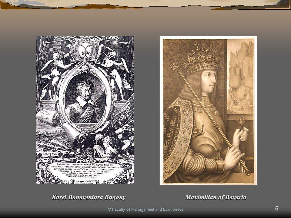 6 Karel Bonaventura Buqouy Maximilian of Bavaria