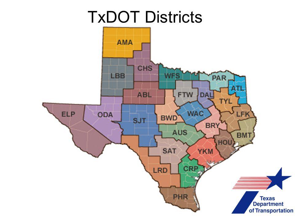 TxDOT Districts