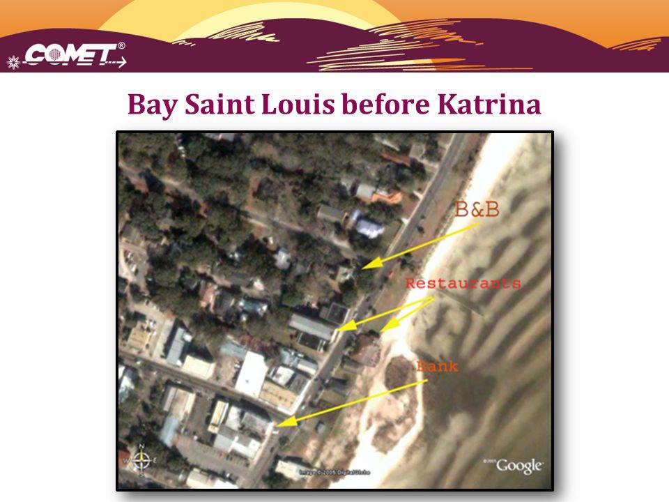 Bay Saint Louis before Katrina