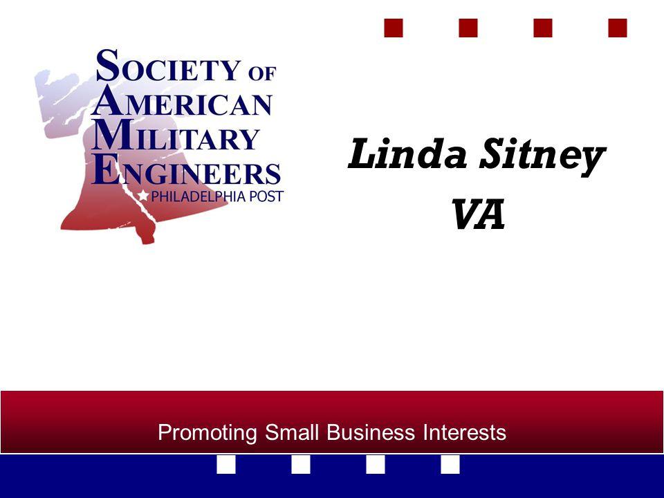 Promoting Small Business Interests Linda Sitney VA