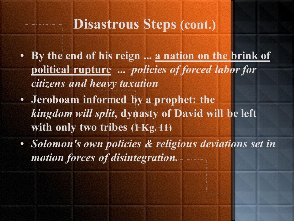 Reaffirmation of the Deuteronomic Code (1 Kg.