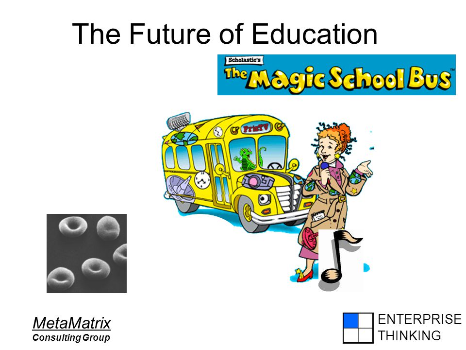 ENTERPRISE THINKING MetaMatrix Consulting Group The Future of Education