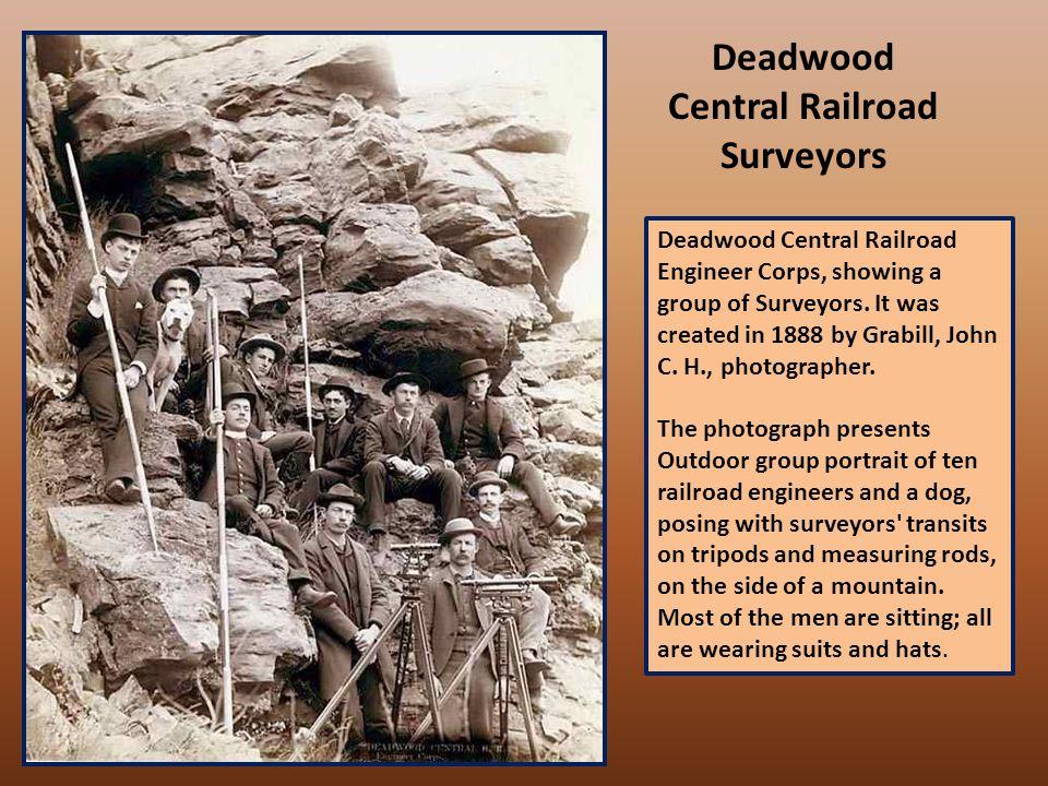 A deer hunt near Deadwood in winter 1887 and '88