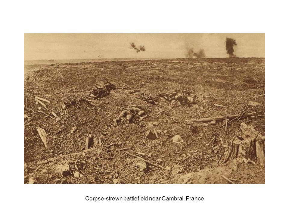 British and French soldiers killed by German gas attack on Hill 60, near Zwarteleen, Belgium