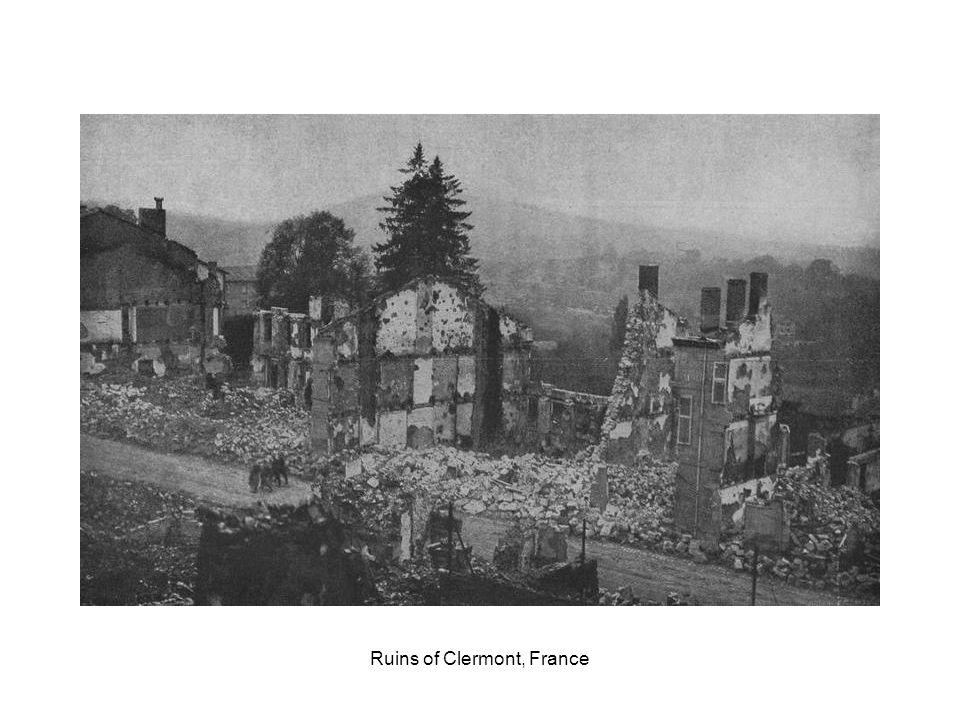 Ruins of Louvain, Belgium