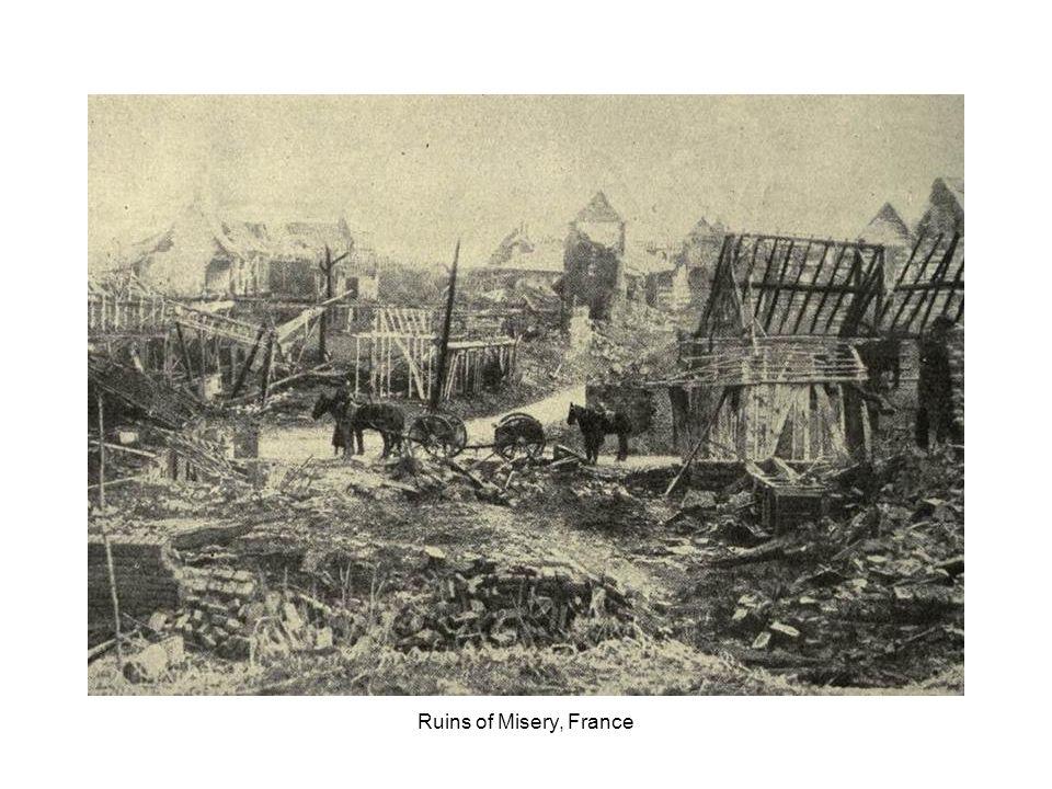 Ruins of Mametz, France