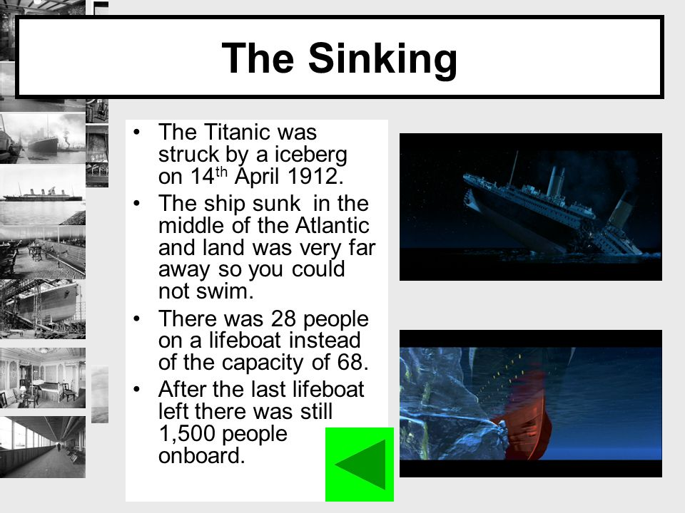 Aftermath 2 hours after the Titanic had fully sunk RMS Carpathia came to the rescue and saved a lot of the passengers.