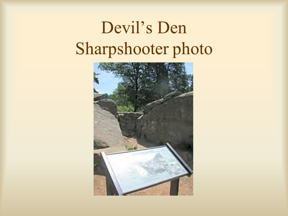 Devil's Den Sharpshooter photo