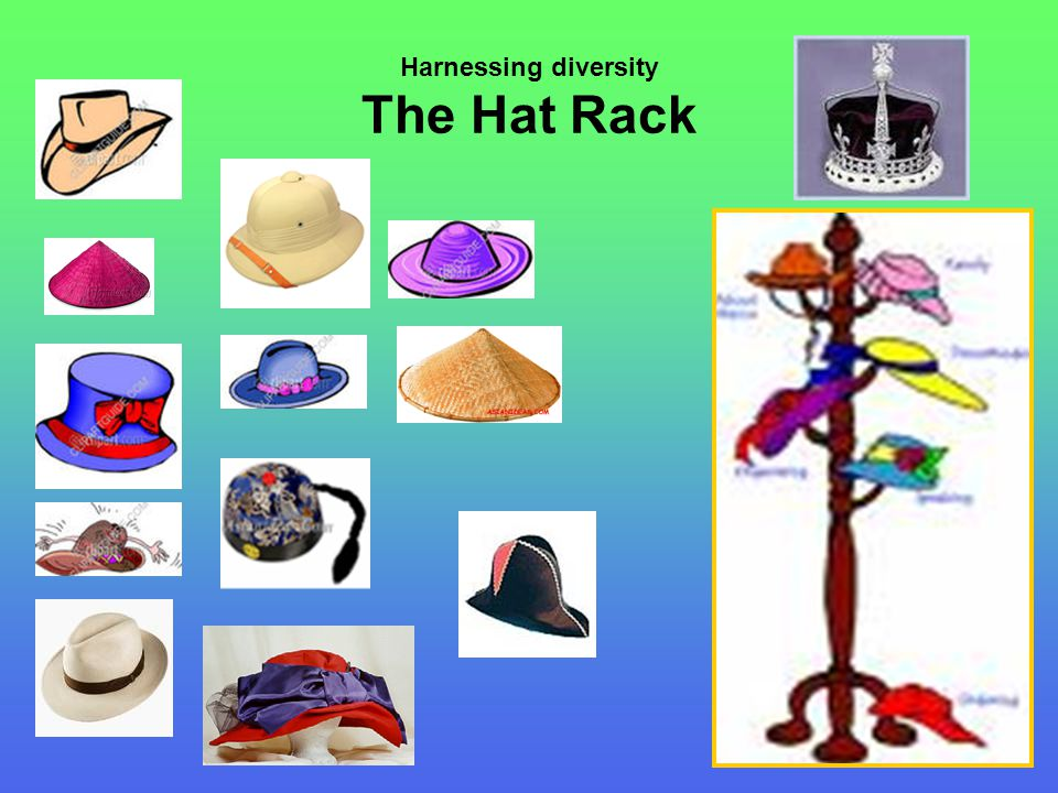 Harnessing diversity The Hat Rack
