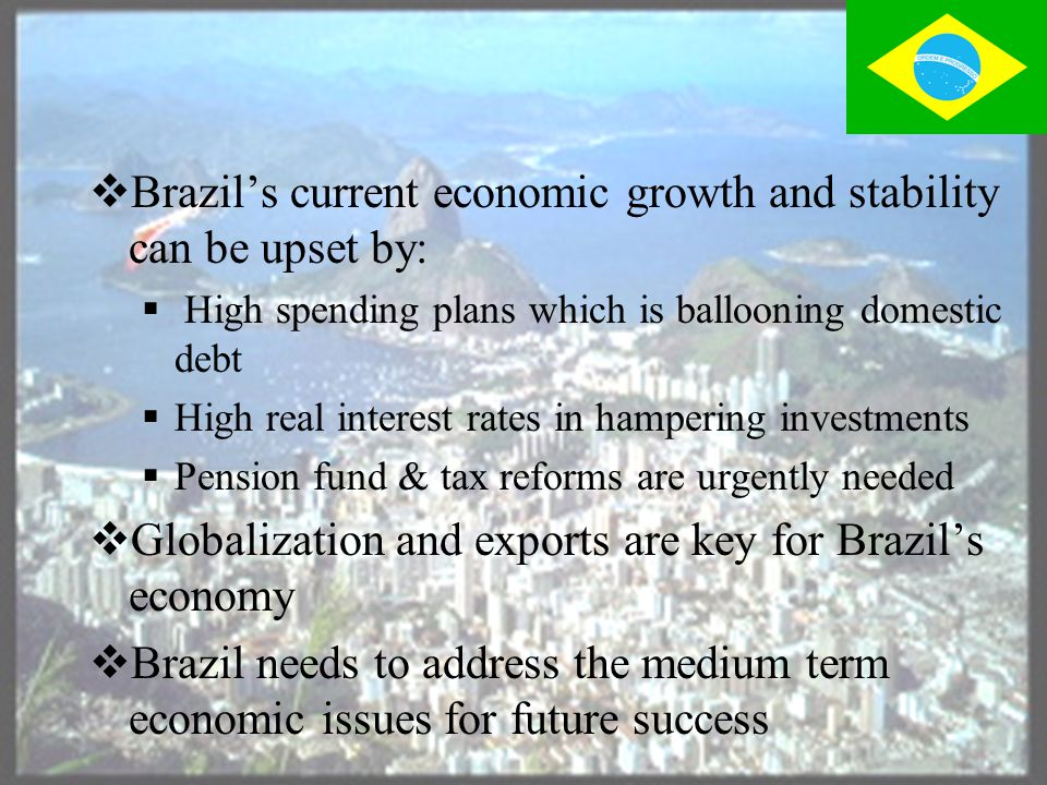 Closing Thoughts  Brazil is a country of contrasts.