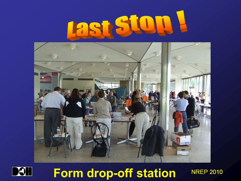 Form drop-off station