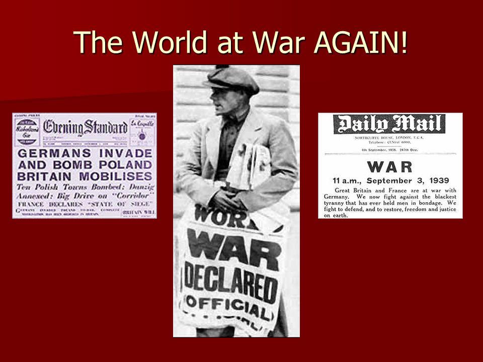 The World at War AGAIN!