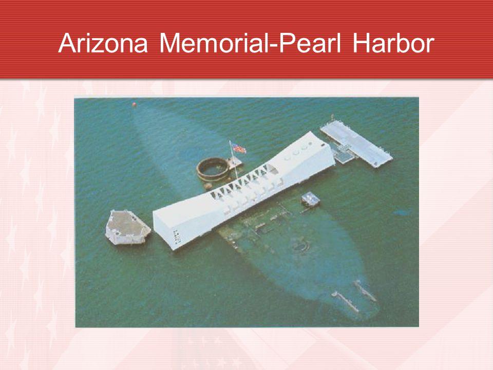 Arizona Memorial-Pearl Harbor