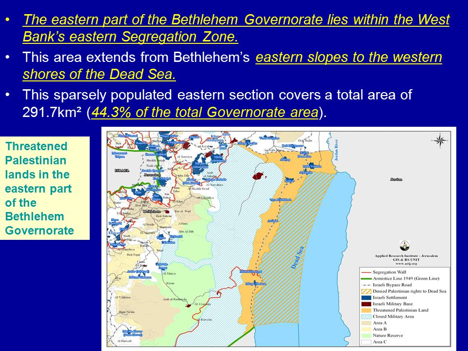 Israeli Checkpoints and Bypass Roads Prior to the year 2000, the Bethlehem Governorate had only 2 permanent checkpoints located at the outskirts of the Governorate, on the entry points to Jerusalem.