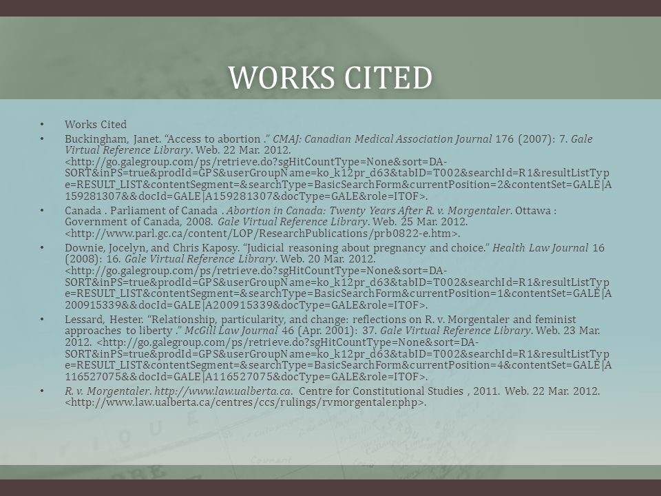 WORKS CITEDWORKS CITED Works Cited Buckingham, Janet.