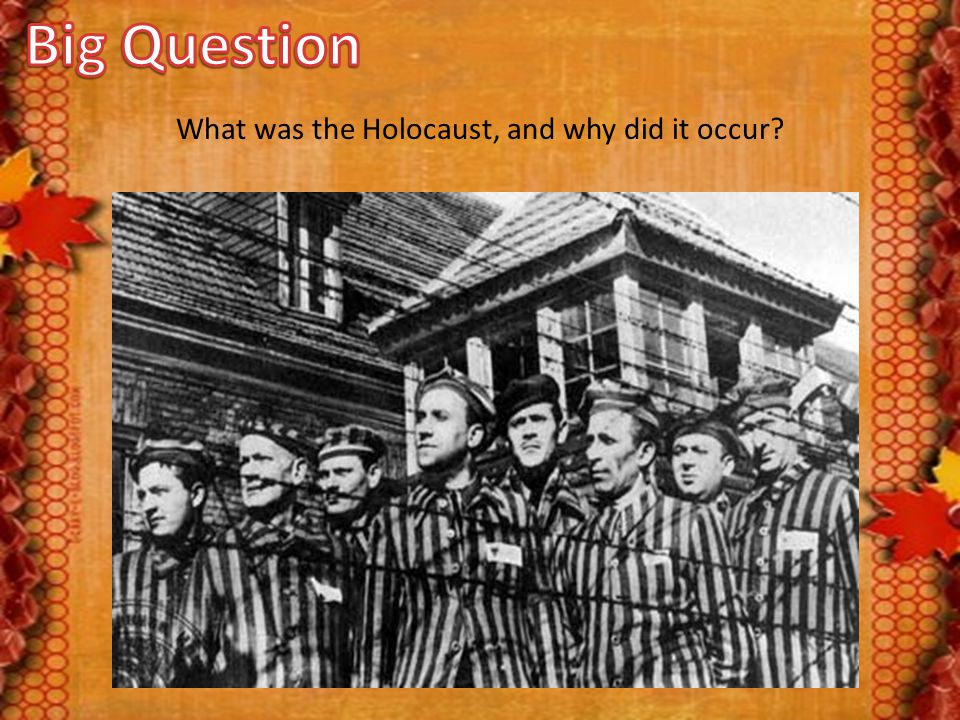 What was the Holocaust, and why did it occur?