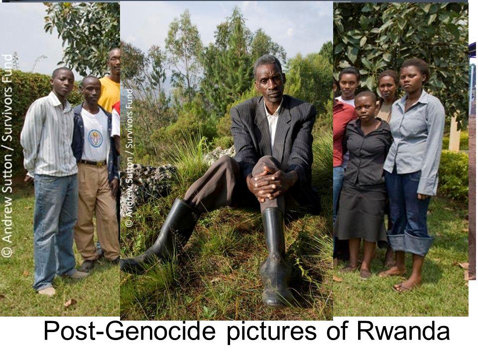 Post-Genocide pictures of Rwanda