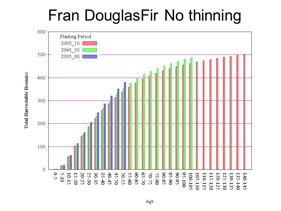 Fran DouglasFir No thinning