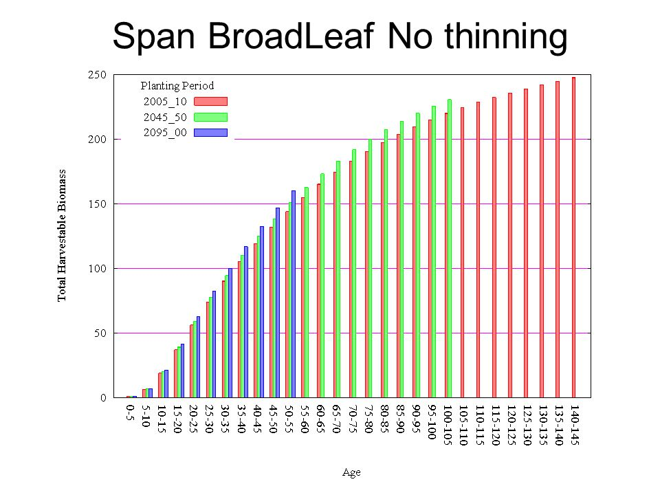 Span BroadLeaf No thinning