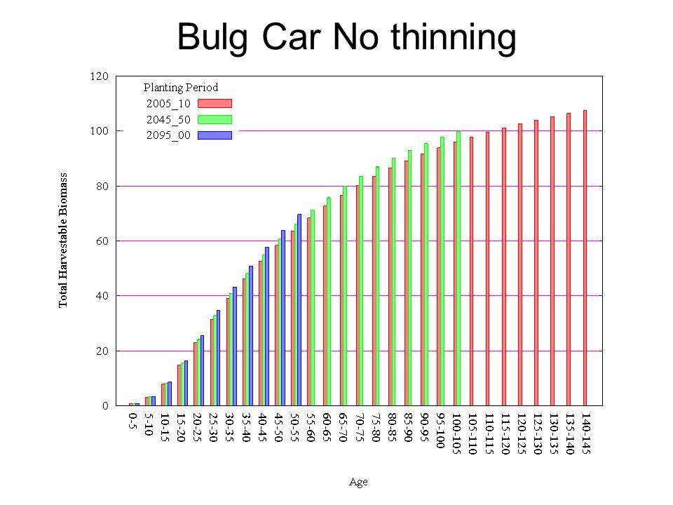 Bulg Car No thinning